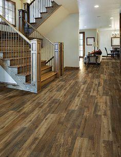 tranquility rustic reclaimed oak vinyl floor planks - Google Search
