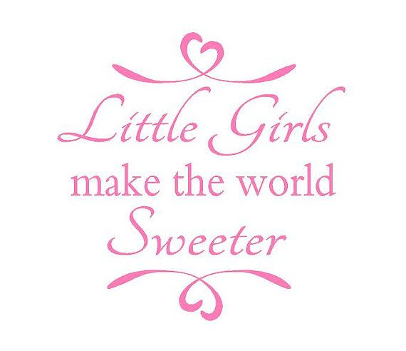 $25.00 Cute quote for little girls room, nursery or playroom