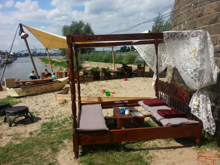 Hemelbed at beach  Canope bed outdoor beach