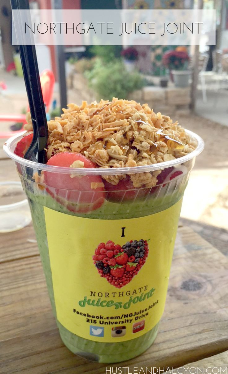 Northgate Juice Joint | A Little Guide to Aggieland ( Bryan & College  Station ) |