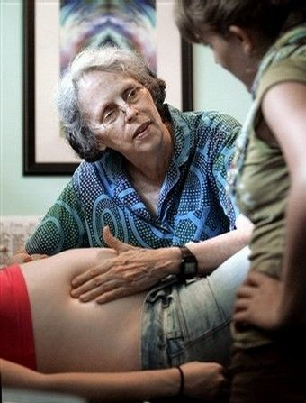 """""""Mother of modern midwifery,"""" Ina May Gaskin dropped some knowledge on a posse of nurses, educators, and doulas in NYC and I was lucky enough to be there."""