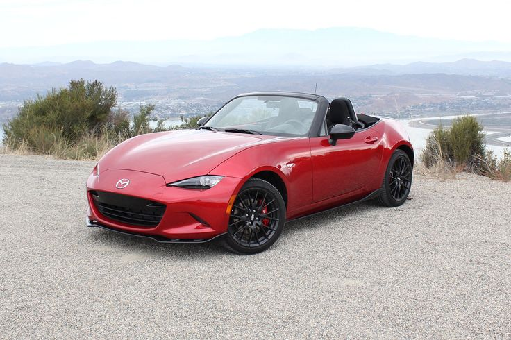My new car! 2016 Miata with the red Brembo brake calipers! SWEEET