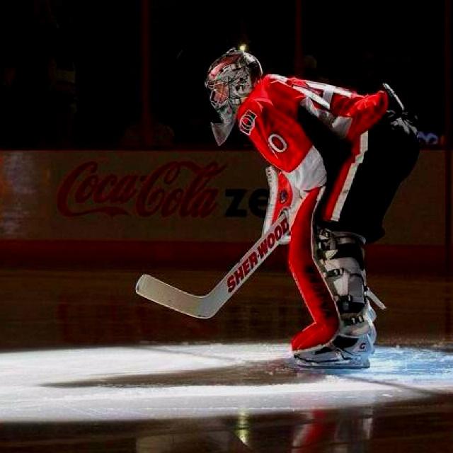#40 Robin Lehner, Ottawa Senators #1 goalie prospect!