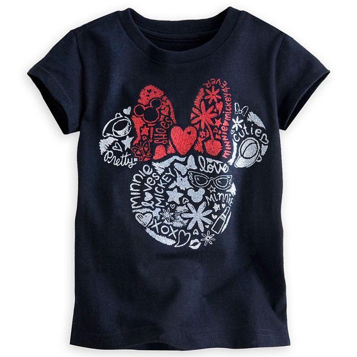 kid's tees for $8 @DisneyStore #kids #tees #minnie #Disney