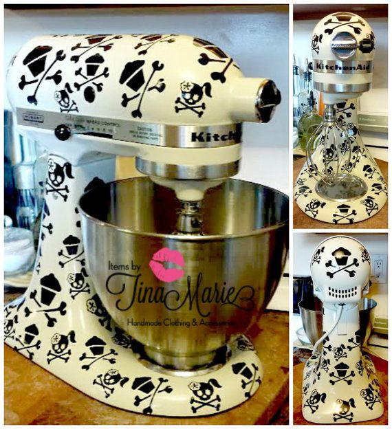 Kitchen Aid Decals Custom Orders welcomed. by itemsbyTinaMarie, $12.00