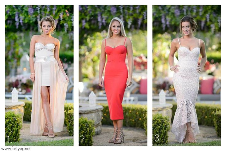 The Bachelor Australia 2016 Rose Ceremony Dresses