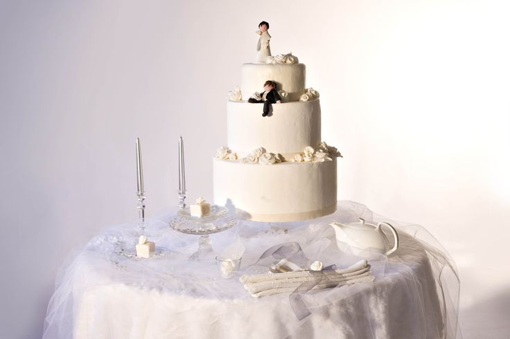 wedding cake e tulle