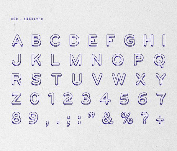 UGO | Typeface | Free Font on Behance