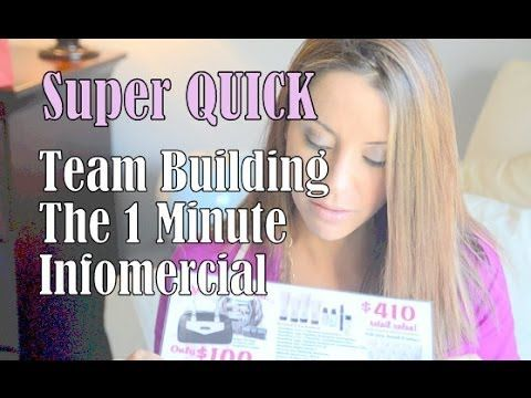 FAST! The Mary Kay One Minute Infomercial & Game!