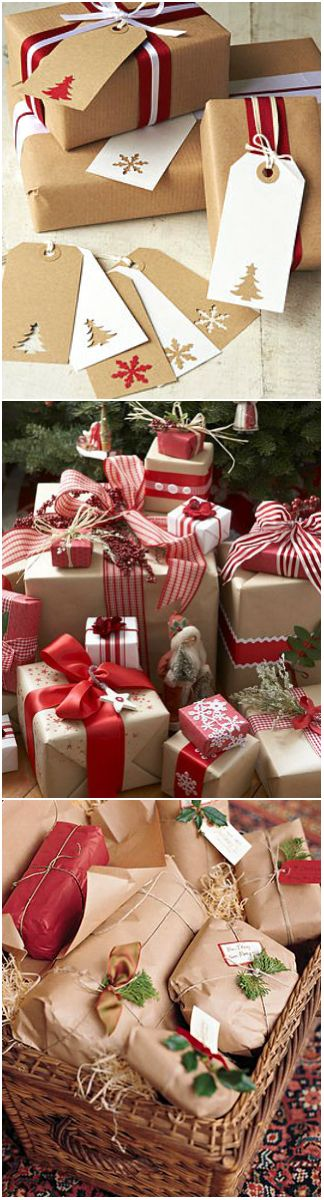 Christmas Inspiration ● Gift Wrapping