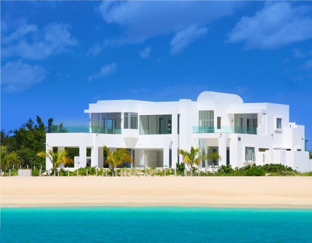 Architecture Contemporary Beach House Plans White
