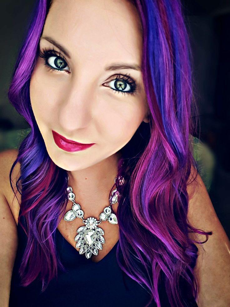 9 best Magenta Mermaid Hair images on Pinterest | Pelo de sirena ...