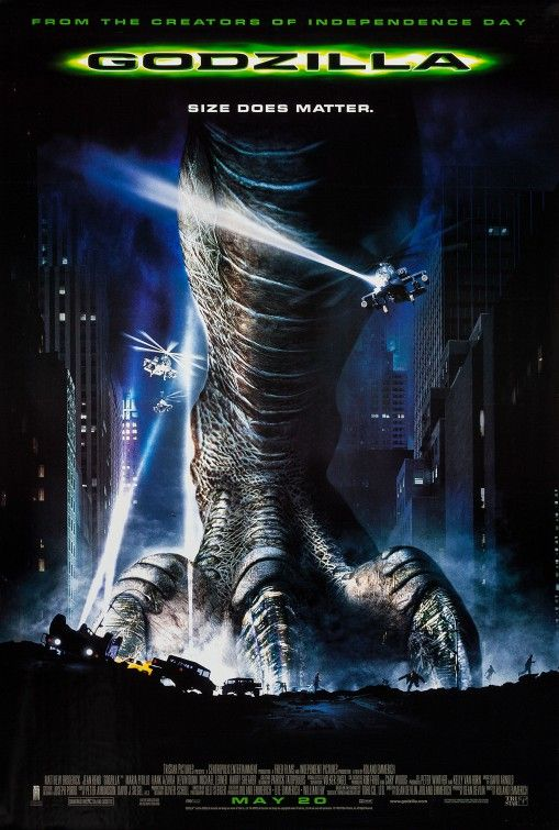 Click to View Extra Large Poster Image for Godzilla