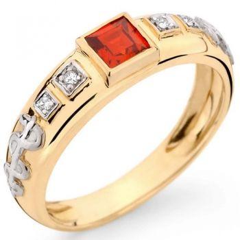 Anéis de formatura de ouro Bruner