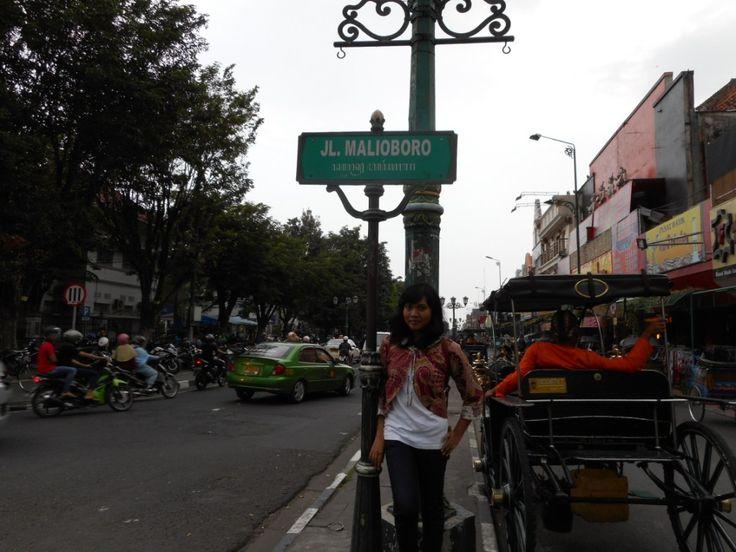Jalan Malioboro #MalioboroStreet #Jogjakarta