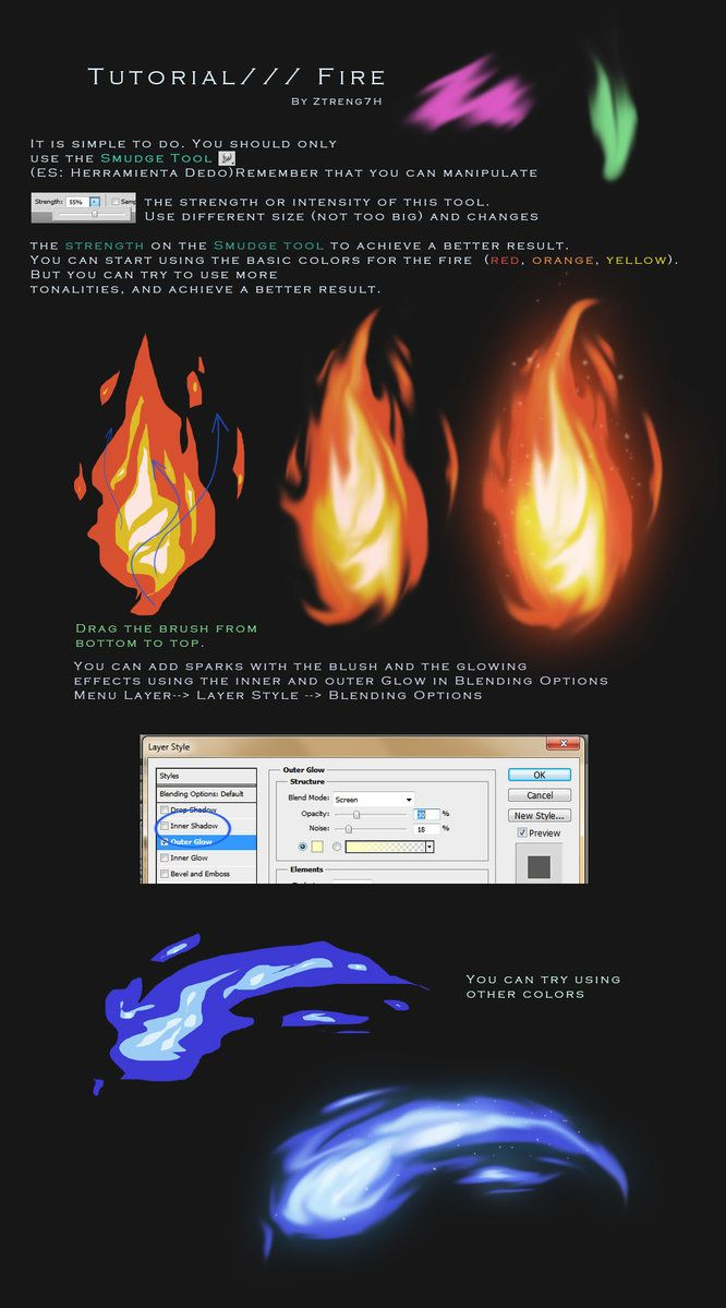 Earlier with week it was requested that I make a tutorial of how I draw fire so here it is! :3 If you have any questions, don't hesitate to leave a message! Wildfire is one of the adoptables I'm cu...