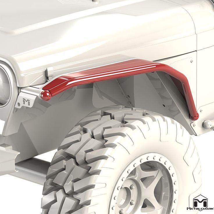 """Jeep Wrangler TJ/LJ/YJ 6"""" Overline Front Flare"""