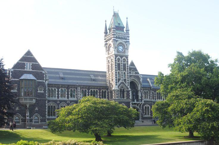 Registry Building, University of Otago, NZ.