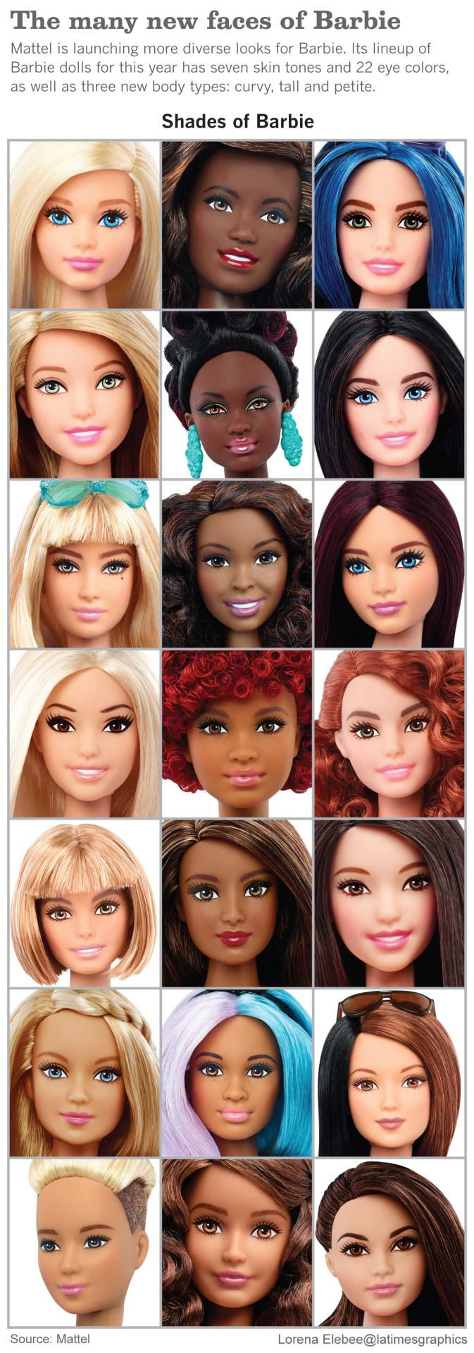 I want a curvy Barbie and she better have some clothes to go along with that new shape