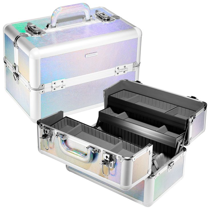 Shop SEPHORA COLLECTION's Frosted Light - Large Traincase at Sephora. This stylish train case offers a stylish solution for convenient storage and travel.