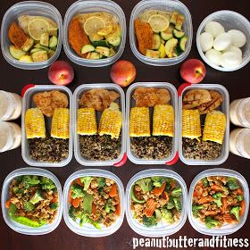PEANUT BUTTER AND FITNESS: Meal Prep - Week of May 18th