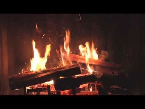 ▶ Relaxing Music 90 Minutes Long Playlist Background Piano and Soothing Burning Fireplace for You - YouTube