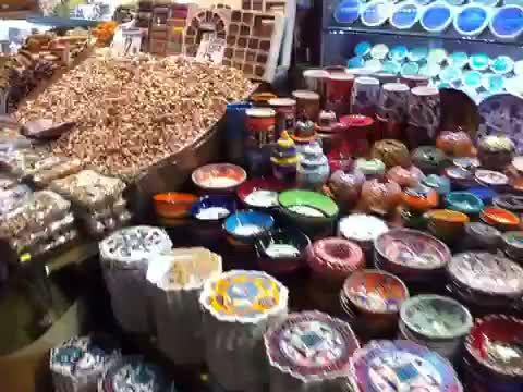 Video: Wandering the Spice Market in Istanbul #travel