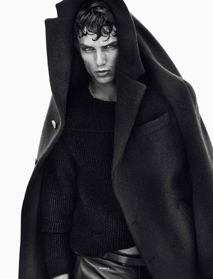 Authur Gosse / Sølve Sundsbø / Models / Vogue Hommes International / FW 2013