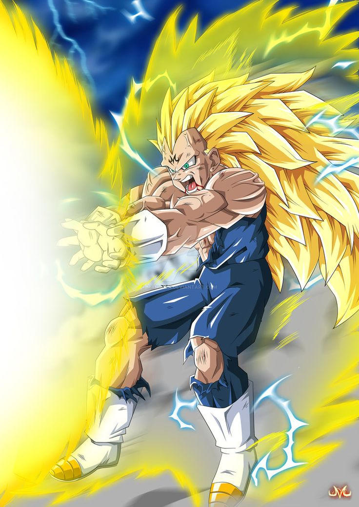 Hi ! I'm really excited with this work, it was really fun to do . I imagined he's Vegeta from an other universe, which suceed to control the SSJ3 form... And arrived in universe 7, ready to k...