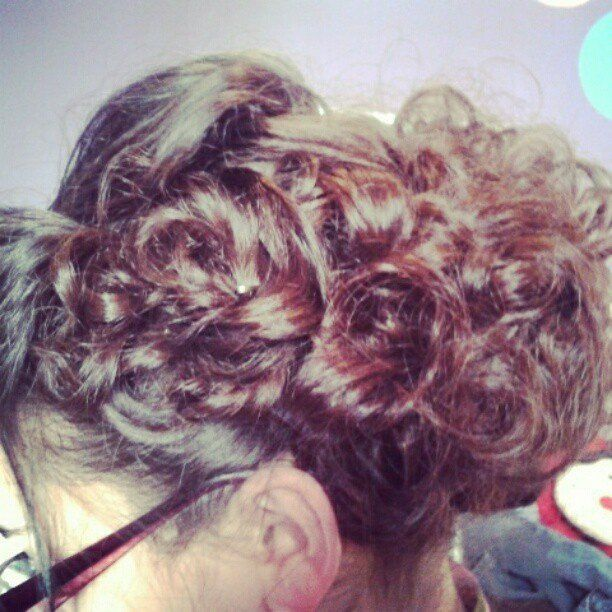Apostolic pentecostal hair.