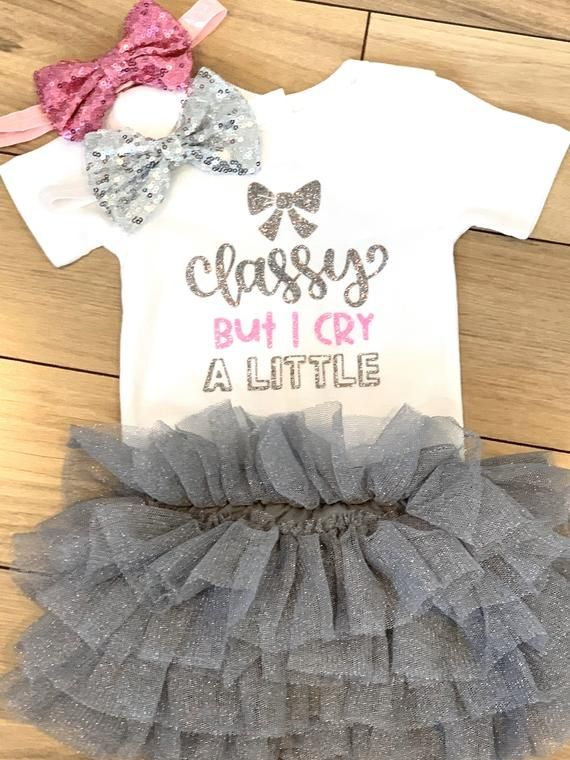 Baby Girls Newborn clothes Bodysuit wedding party dress Tutu baby shower gift