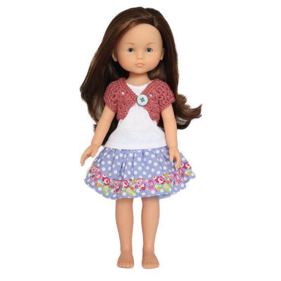 Download Now  CROCHET PATTERN 13  14.5 Doll Lacy by littleabbee