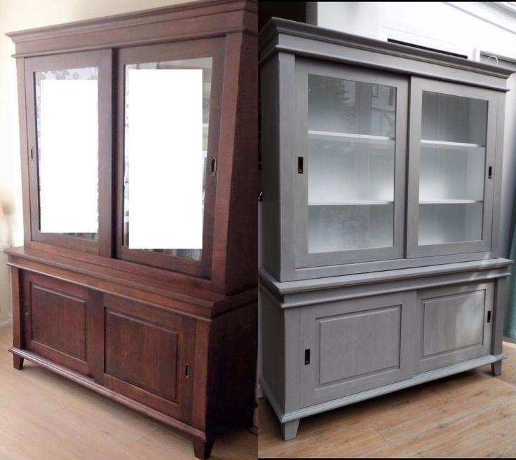Buffetkast cabinet grijs paris grey