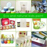 1. All Natural Youg Artists Paint by LePetitMatisse 2. Naturally Safe Tempera Paint by Wee Can Too 3. SALIS Finger Paints 4. Eco-friendly Paint Kit by Earth Paint 5. Natural Paint by Clementine Art 6. Glob Paint Kit 7. Glob Paint Set 8. Eco-finger Paint by Eco-kids 9. The Original...