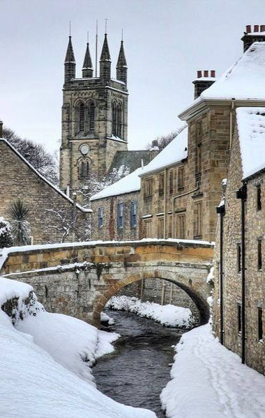 Helmsley Winter, North Yorkshire, England | Photography by Martin Williams