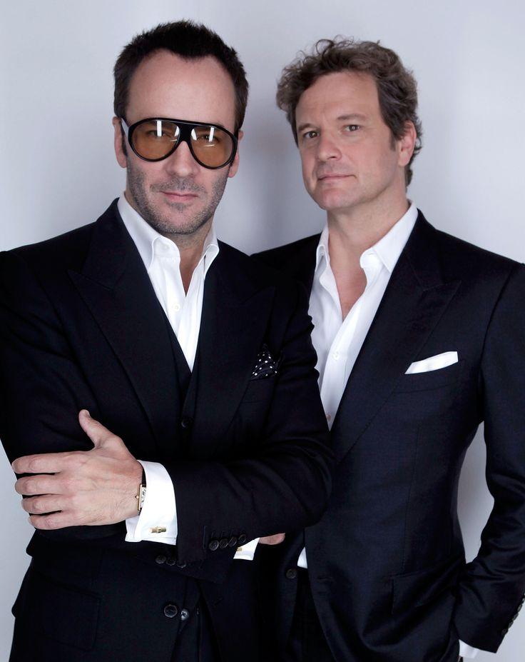 Tom Ford & Colin Firth