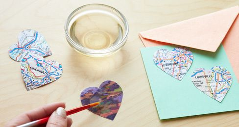 How-To: Make Your Own Lick-and-Stick Stickers: Sticks, Craft Projects, Crafts Diy, Crafts Stickers, Craft Ideas, Paper Crafts, Diy Projects, Lick And Stick Stickers