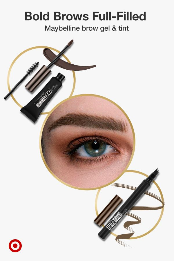 Create Natural Fuller Looking Eyebrows With Maybelline Tattoostudio