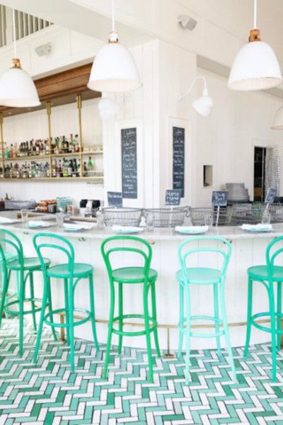 Bar Melusine - 15 Tile Floors You Need To Instagram - Photos