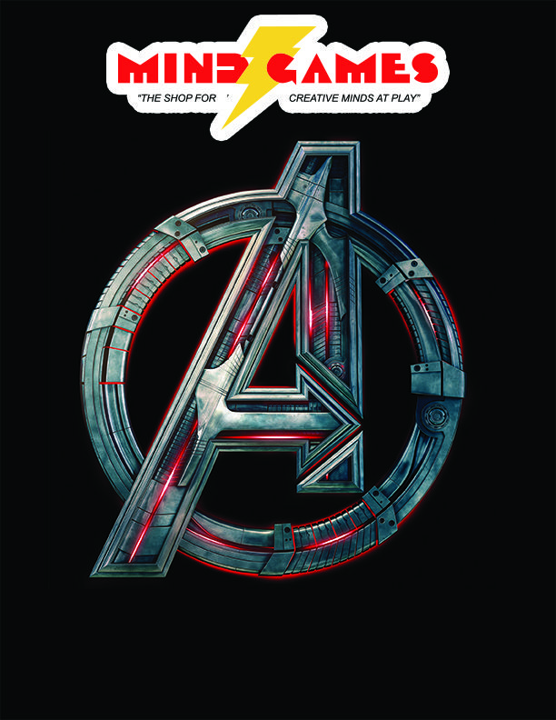 Assemble your very own Avengers with the Avengers: Age of Ultron Avengers Icon T-Shirt Large! This black T-Shirt features the iconic Avengers Logo from the Age of Ultron film stylized with Ultron's devious colouring.