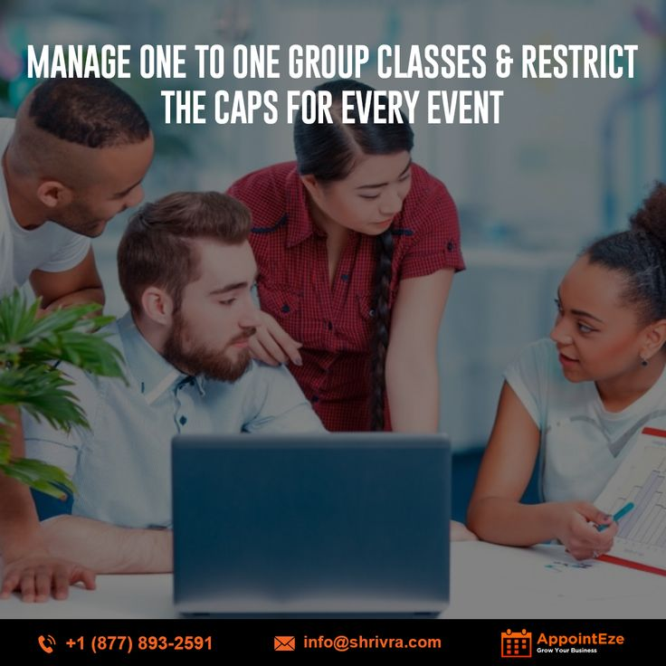 Manage One To One Group Classes & Restrict The Caps For