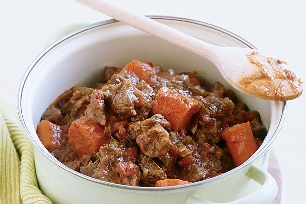 Hearty beef casserole - for those cooler days