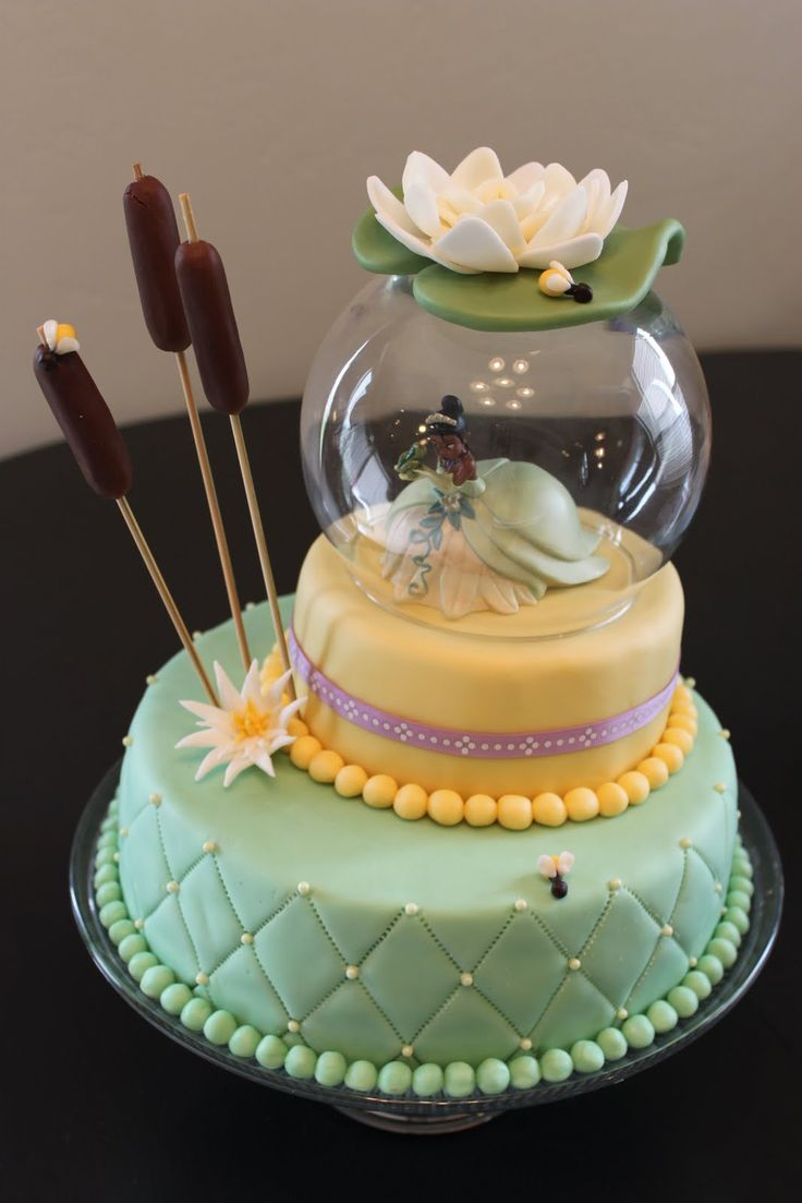 princess cake ideas | ... in May and had a Princess and the Frog party. Here is the cake I made