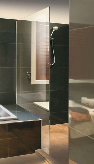 Frameless panels. We do frameless and framed shower screens in Melbourne, Victoria! Visit our website for more details or call 1300 PREMIUM.