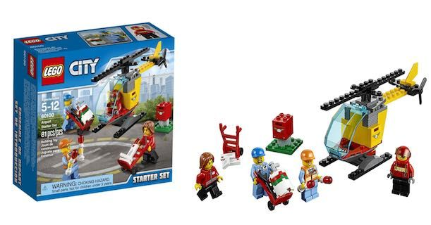 Amazon: Get This LEGO City Airport Starter Set Only $7.99!