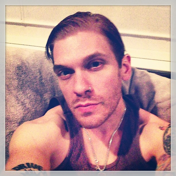 Brent Smith from Shinedown. I still can't believe I got a hug from him Saturday after the concert :)