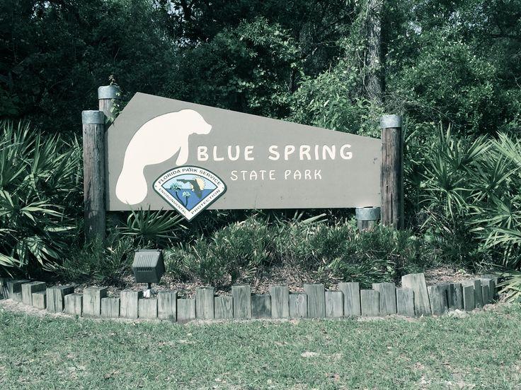 Entrance at Blue Spring State Park. Orange City, Florida