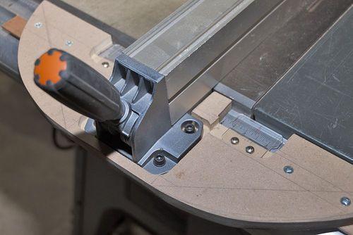 Fix For Ridgid R4512 Table Saw Fence By Freixas