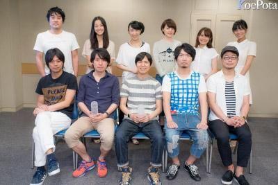 """Hiroshi Kamiya, Katsuyuki Konishi, Kenichi Suzumura, Daisuke Namikawa, Kazuyuki Okitsu! TV animation """"Prison School"""" (July 2015) #seiyuu"""