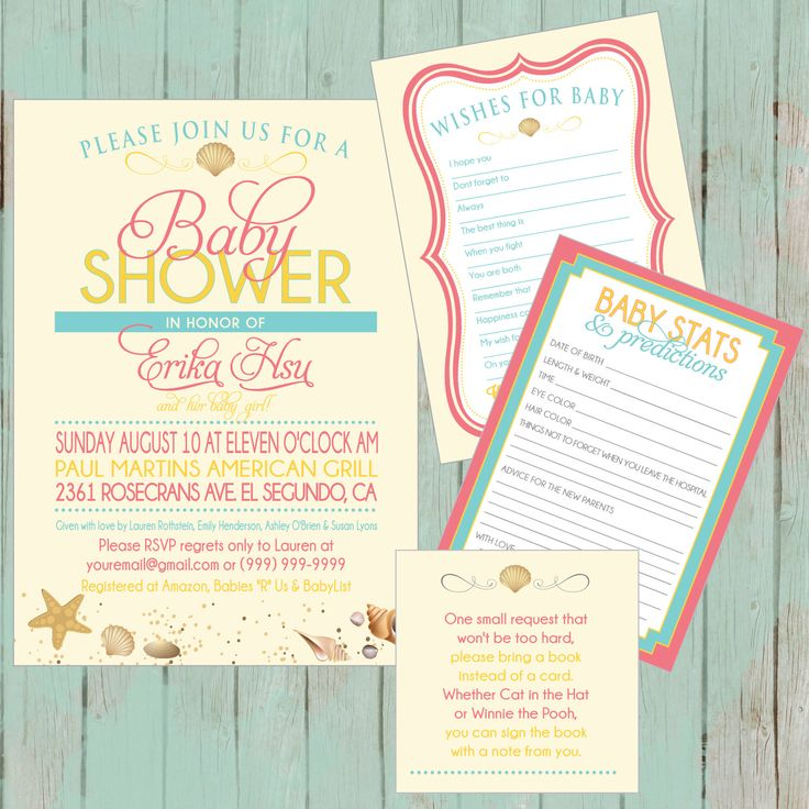 95 best Baby Shower Invitations images on Pinterest | Baby shower ...